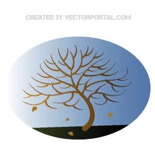 Autumn Tree Image Free Vector