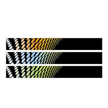 Banner Halftone Background Design Free Vector