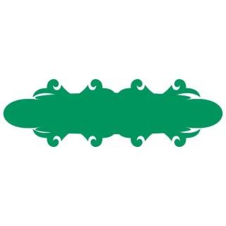 Banner Ornamental Edges Free Vector