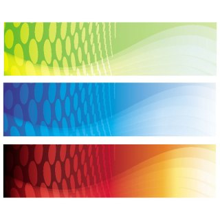 Banners Set 5 Free Vector