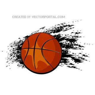 Basketball Ball Image Free Vector