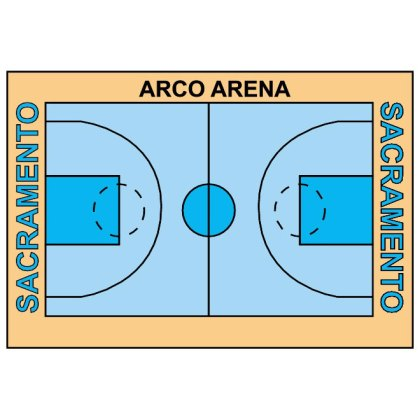 Basketball Court Free Vector