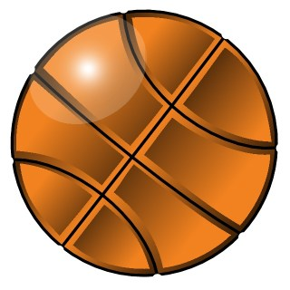 Basketball Graphics Free Vector