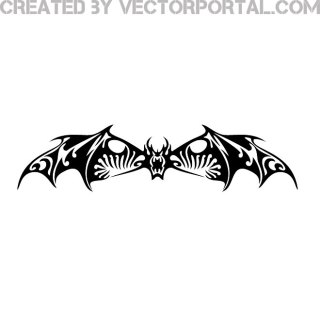 Bat Image Free Vector