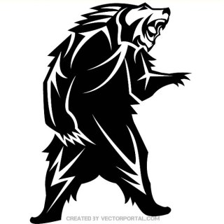 Bear Graphics Download Free Vector