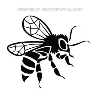 Bee Graphics Free Vector