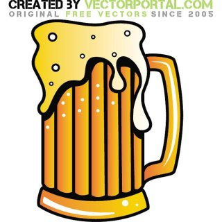Beer Graphics Free Vector