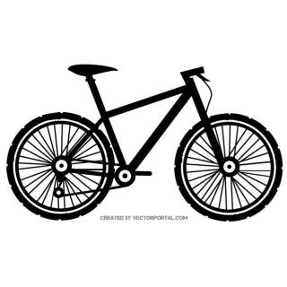 Bicycle Silhouette Free Vector