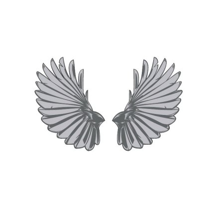Big Wings Image Free Vector