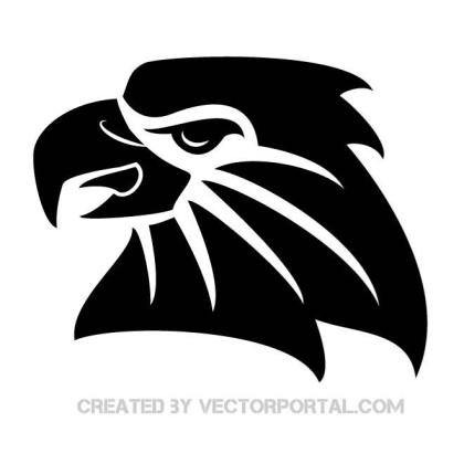 Black Eagle Free Vector