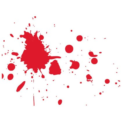 Blood Stains Graphics Free Vector
