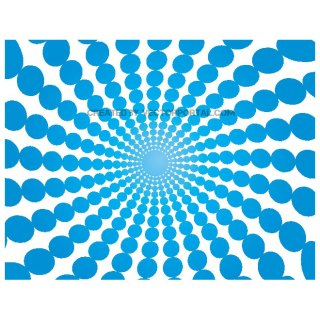 Blue Gradient Dots Burst Free Vector