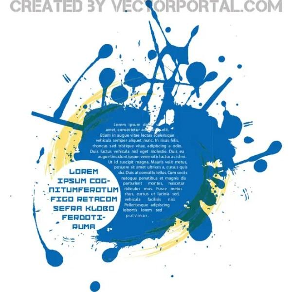 Blue Grunge Background Free Vector