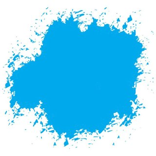 Blue Ink Grunge Free Vector
