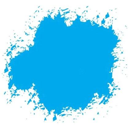Blue Ink Grunge Free Vector