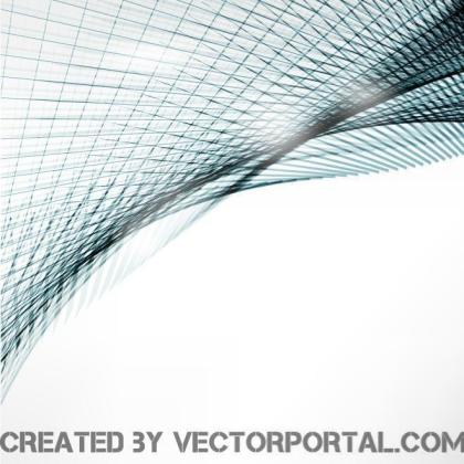 Blue Lines Background Free Vector