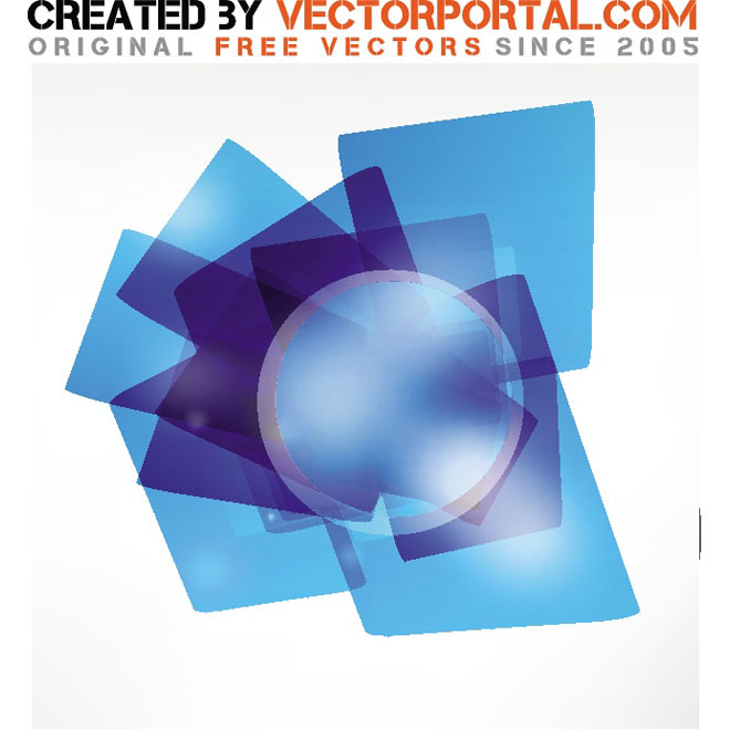 Blue Stock Design Graphics Free Vector