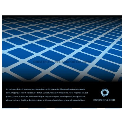 Blue Tiles Background Free Vector