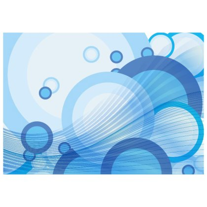 Blue Water Bubbles Background Free Vector
