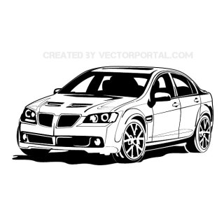 Bmw Car Free Vector