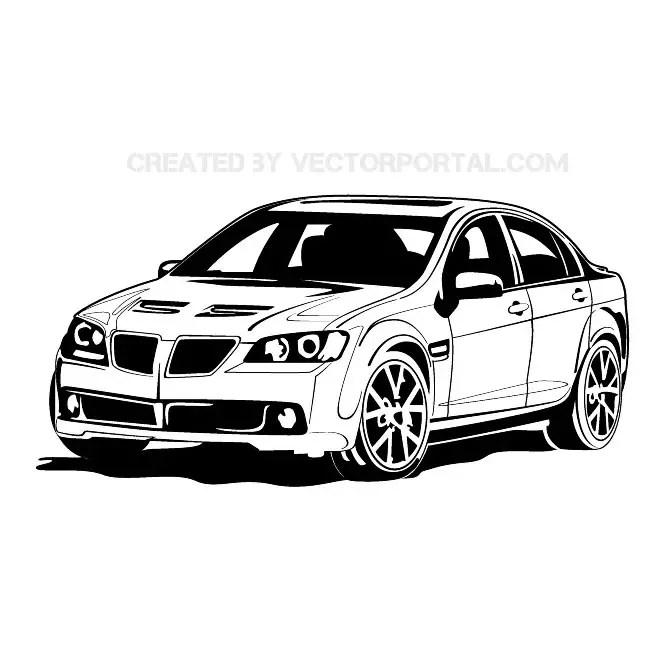 Bmw Car Free Vector