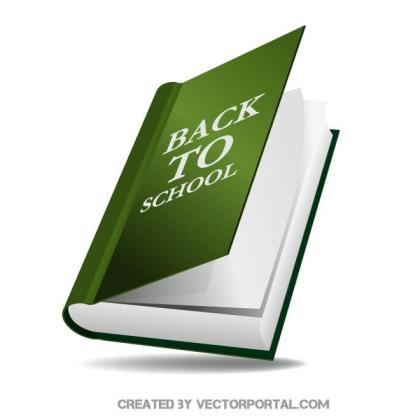 Book 3D Graphics Free Vector