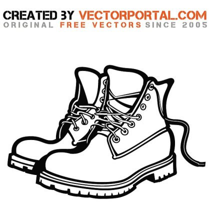 Boots Image Free Vector