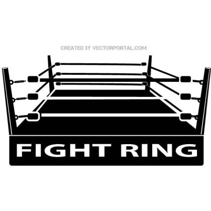 Boxing Ring Image Free Vector