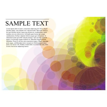 Bright Colorful Background Free Vector