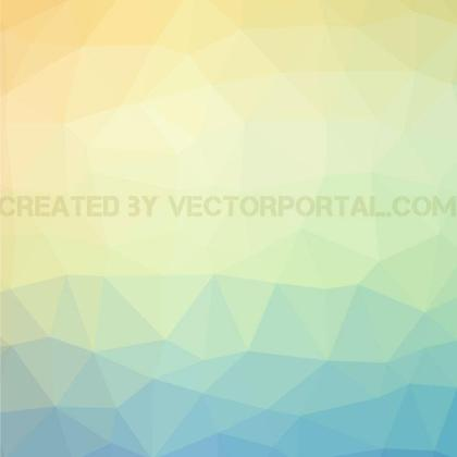 Bright Polygonal Pattern Free Vector