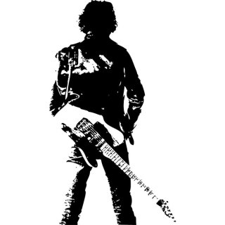 Bruce Springsteen Image Free Vector
