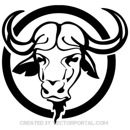 Buffalo Head Free Image Free Vector