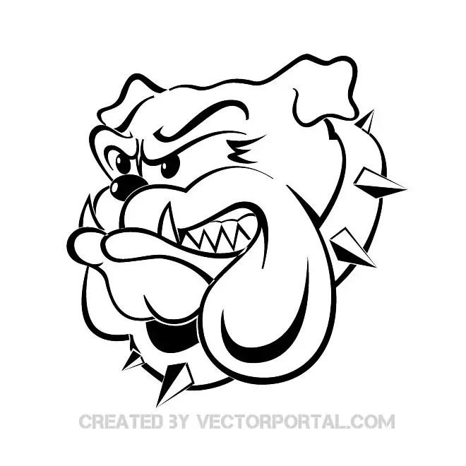 Bulldog Image Free Vector