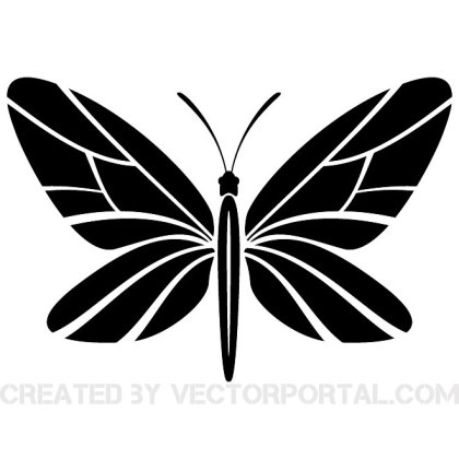 Butterfly Graphics 2 Free Vector