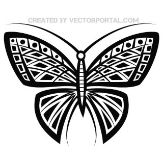 Butterfly Stock Free Vector