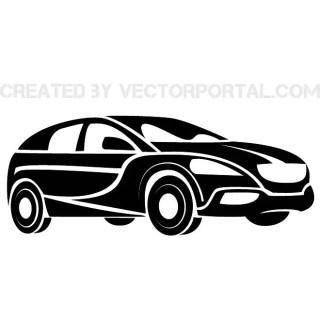 Car Clip Art Illustration Free Vector