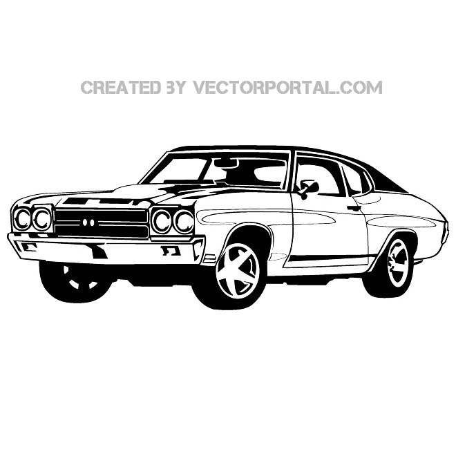 Car Illustration 4 Free Vector