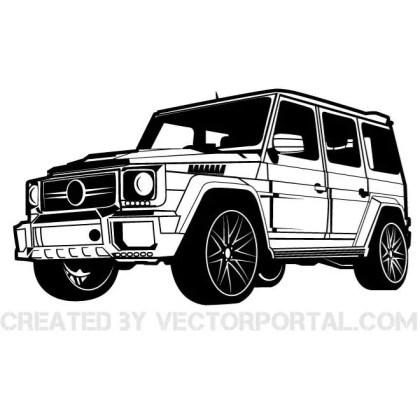 Car Mercedes Brabus Graphics Free Vector