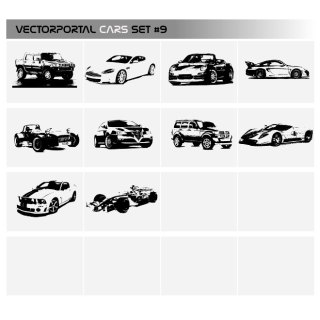 Cars Free Pack Free Vector