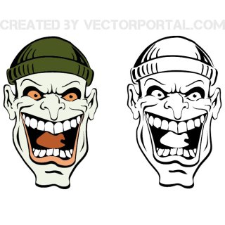 Cartoon Face Free Vector