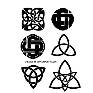 Celtic Knots Free Vector