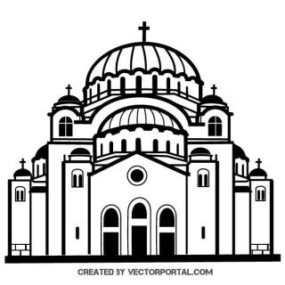 Church Graphics Free Vector