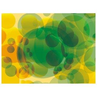 Circles in Color Background Free Vector