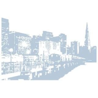City Skyline Free Vector