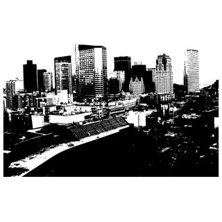 City Skyline Graphics Free Vector