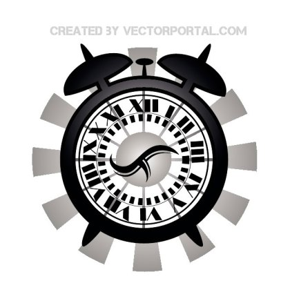 Clock Graphics Free Vector