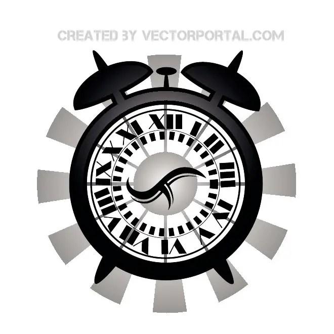 Clock Graphics Free Vector