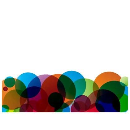Colored Circles Abstract Free Vector