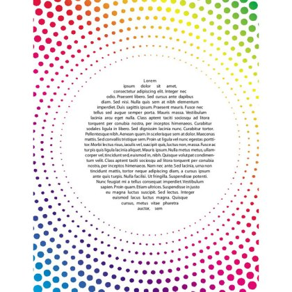 Colored Dots Background Free Vector