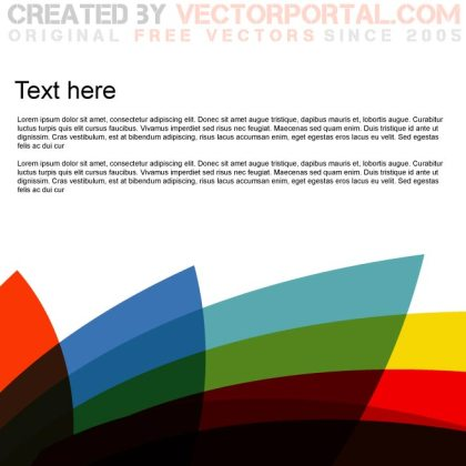 Colorful Background Design Free Vector